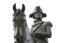 BOSTON:  An Equastrian Statue Of General George Washington