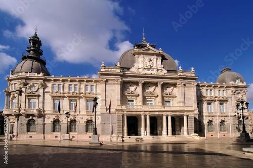 Town Hall, Plaza del Ayuntamiento, Cartagena, Spain