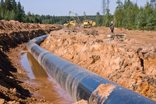 Construction Of The Pipe Line
