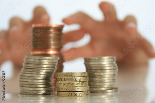 Obraz na plátně Money Grabber