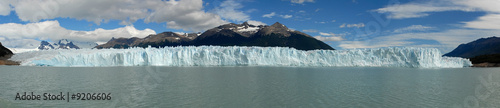 Poster Glaciers The Perito Moreno Glacier in Patagonia, Argentina.