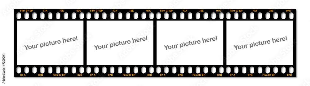 Fototapety, obrazy: Dia-Streifen