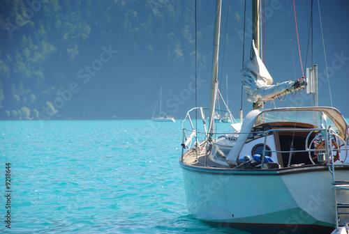 Photo Stands Caribbean segelboot