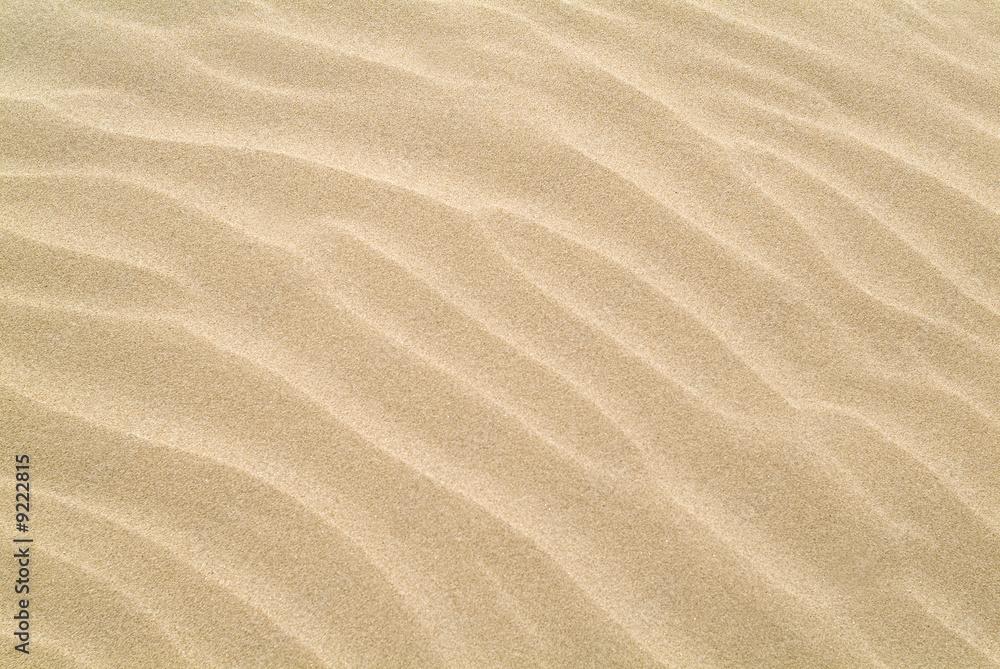 Doppelrollo mit Motiv - ripples in the sand
