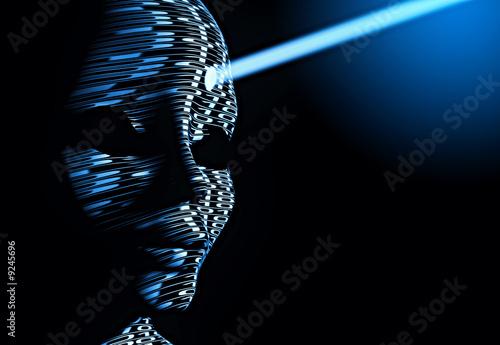 cyberman Poster Mural XXL