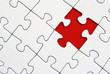 Leinwandbild Motiv Puzzle