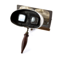 Antique Stereoscope With Card ...
