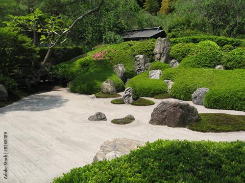 Photo sur Plexiglas Zen pierres a sable jardin sec (Kyoto)