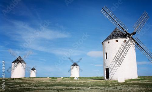 Foto-Fußmatte - windmühlen (von Friedberg)