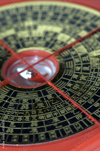 Photo  feng shui compass