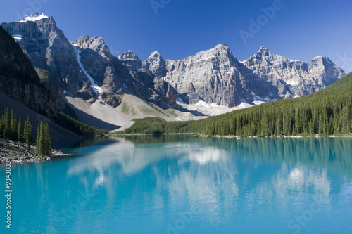 Keuken foto achterwand Bergen Lake Moraine in Banff National Park