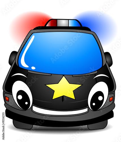Foto op Canvas Cars Police Car