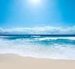 Leinwandbild Motiv Gorgeous Australian Beach in Southern NSW