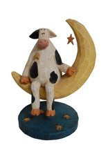 Cow Sitting On Moon