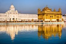 Golden Temple In Amritsar, Pun...