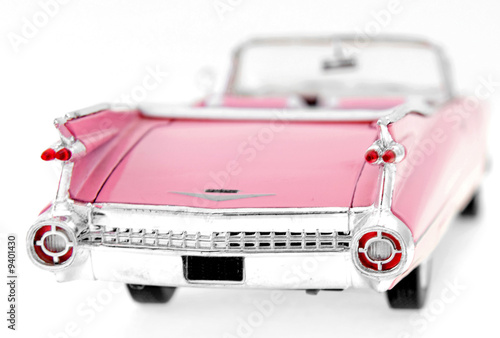 Photo Stands Old cars pink car