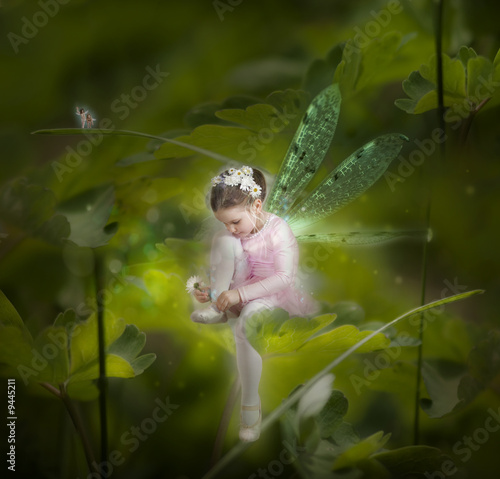 Fotografie, Tablou  Little fairy