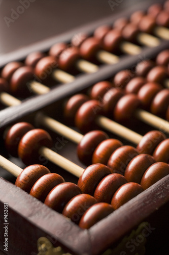 Close-Up Of Abacus - 9452651