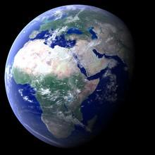 Planète Terre - Europe -afrique