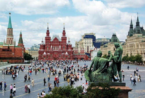 Foto op Canvas Moskou Red Square in Moscow, Russian Federation