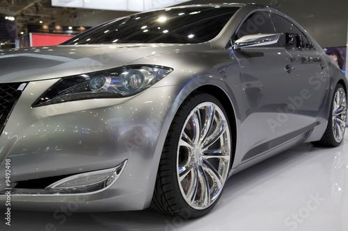 Fototapeta Luxury Car On The Exhibition obraz na płótnie