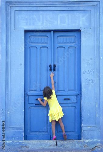 Valokuva  Porte bleue