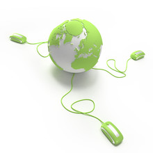 World Connection In Green 2