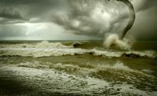 Ocean Tornado Storm (3D Used)