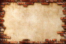 Parchment Background In Brick ...