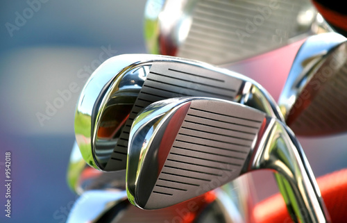 Deurstickers Golf Golf Clubs