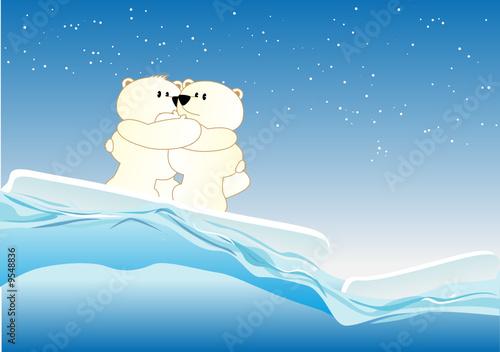 Wall Murals Bears Icebears