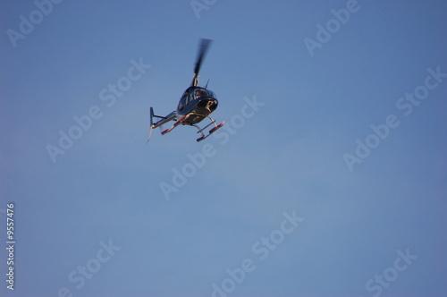 Staande foto Hubschrauber im Einsatz
