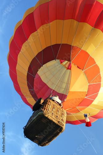 In de dag Ballon Ballon avec ciel bleu