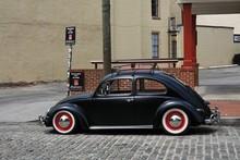 Old Black Car