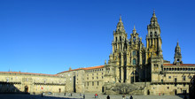 Santiago De Compostela Cathedral. Unesco World Heritage.