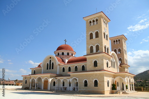 Foto op Canvas Cyprus New monastery, Troodos