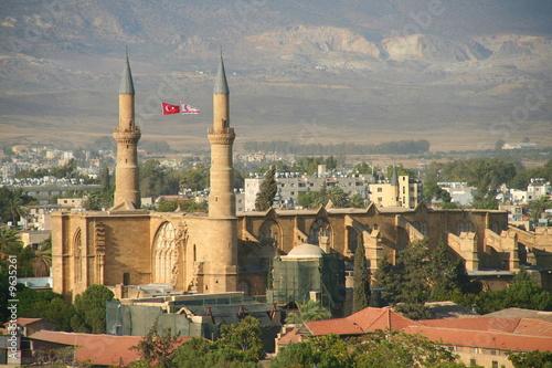 Fotografiet Mosque, northern cyprus