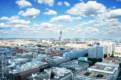 Staande foto Berlijn Berlin bird's-eye view. Germany