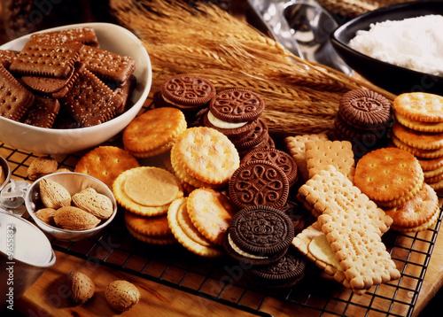 biscuit Fotobehang