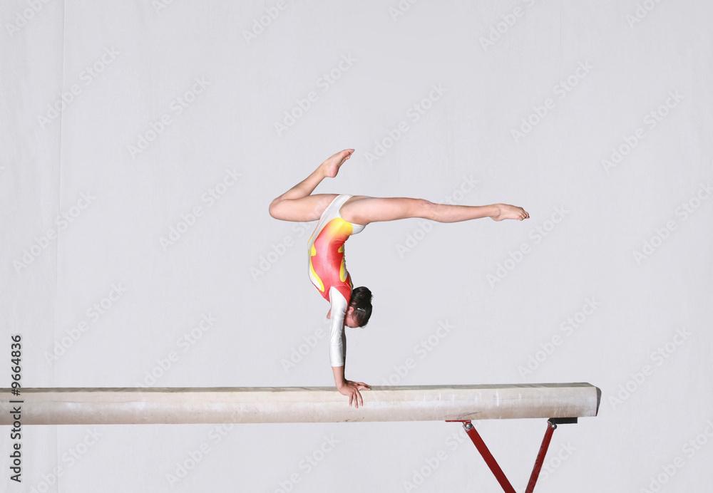 Fotomural Balance beam