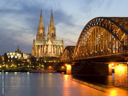 Fotografía  Cologne by Night 01