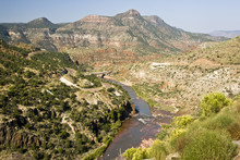 Scenic View Of The Salt River ...