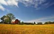 canvas print picture - Scenic Farm Landscape
