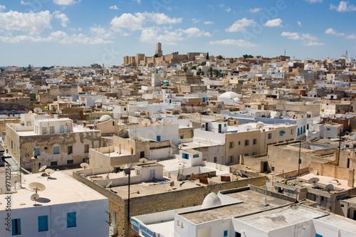 Photo sur Aluminium Tunisie overview of sousse (tunisia)