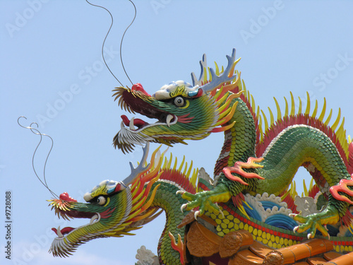Photo  Drachen in Asien