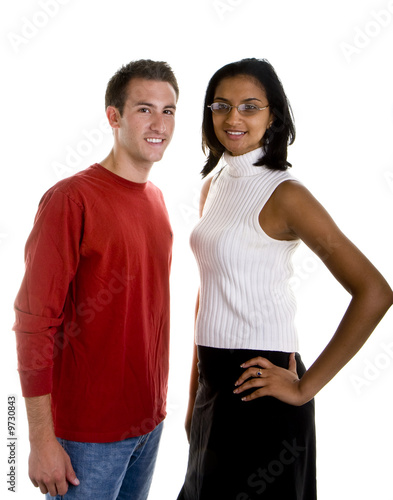 Men and white indian women Why does