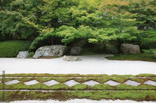 Photo sur Plexiglas Zen pierres a sable Japanese ZEN garden