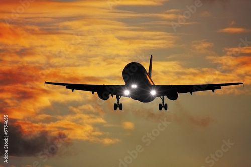 A photography of a jet air plane #9794655
