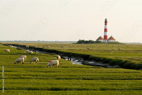 Spoed Foto op Canvas Noordzee Westerhever