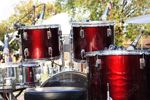 Foto op Canvas Muziekwinkel Drums